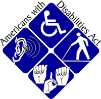 Official logo of the Americans with Disabilities Act